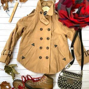 Zara wool swing coat